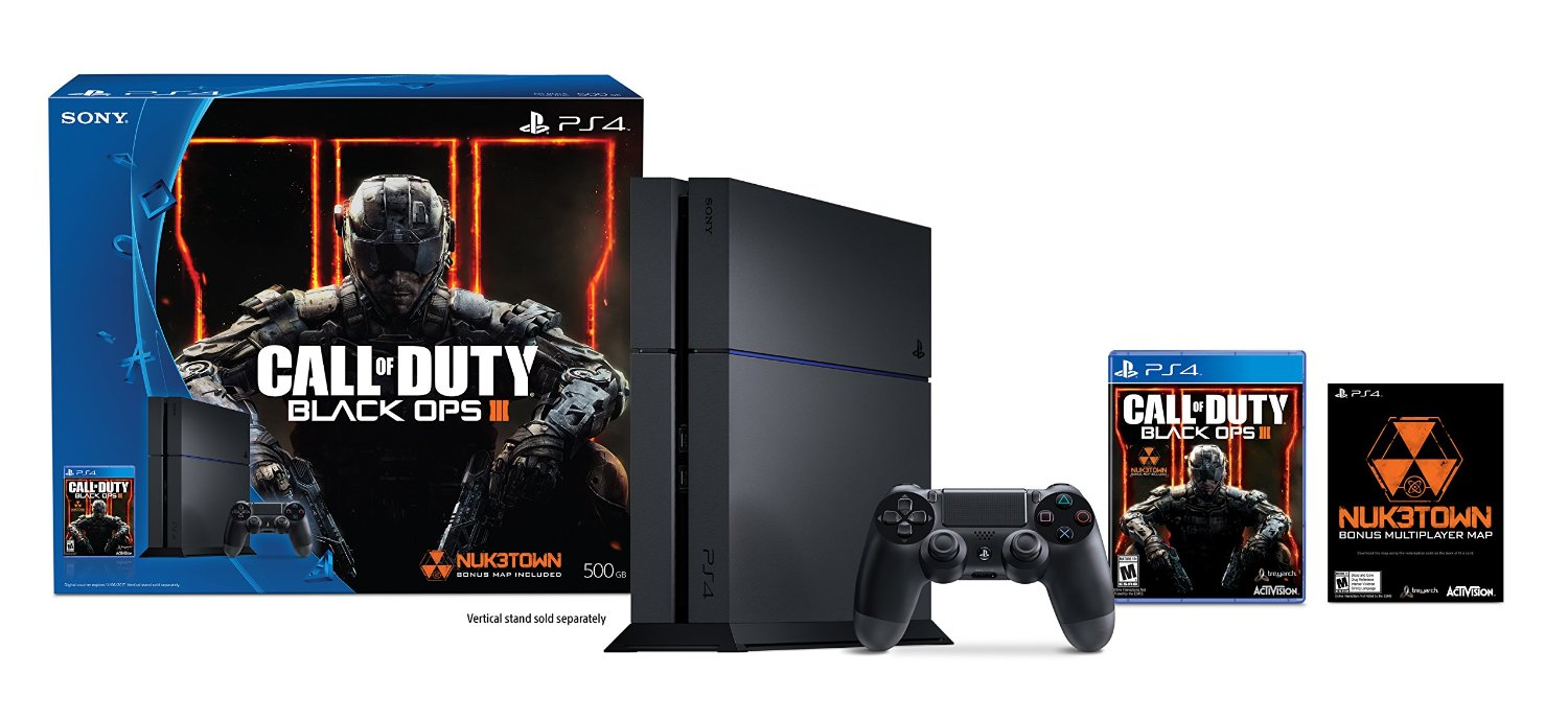Sony Ps4 500gb Call Of Duty Bundle Gold Edition