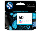 HP #60 INK CARTRIDGE TRI-COLOUR