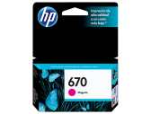 HP 670 INK CARTRIDGE MAGENTA