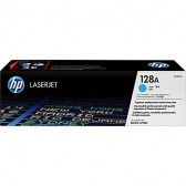 HP #128 TONER CARTRIDGE CYAN