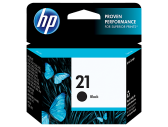 HP #21 INK CARTRIDGE BLACK