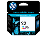 HP #22 INK CARTRIDGE TRI-COLOUR