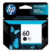 HP #60 INK CARTRIDGE BLACK